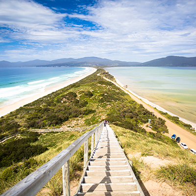 View at Bruny Island